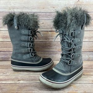 Sorel Joan Of Arctic Faux Fur Lined Snow Boots